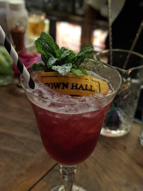 wine cocktails at TownHall
