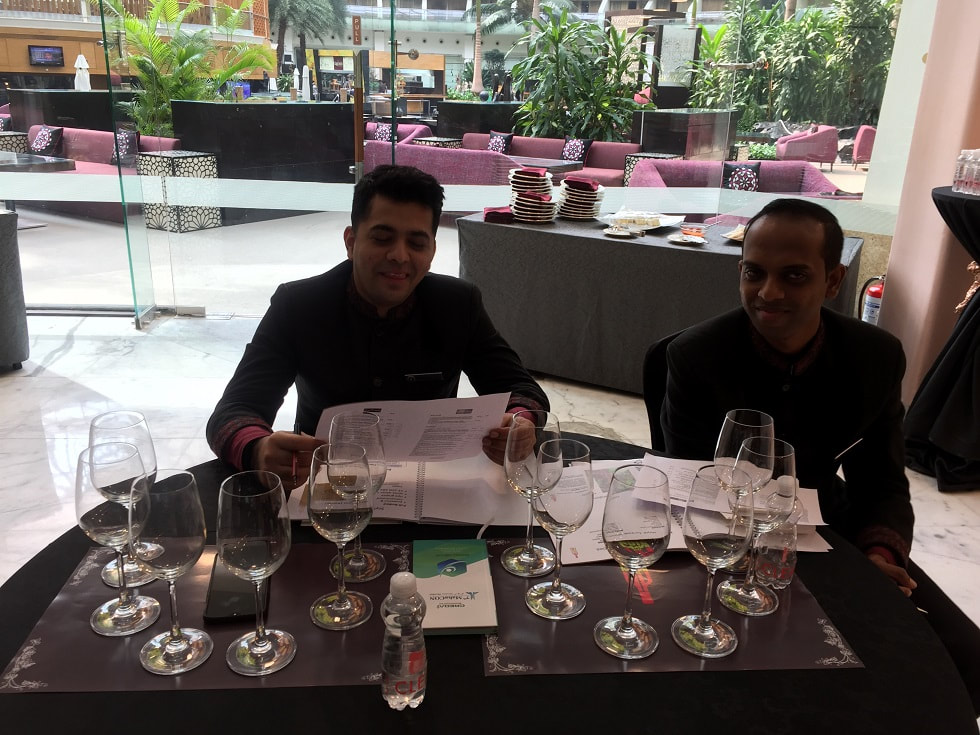 Staff nominated by Sahara Star hotel at the Wine 101